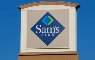 Outdoor sign for Sam's Club